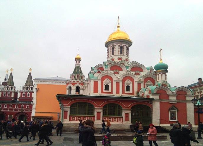 Казанский собор. Москва