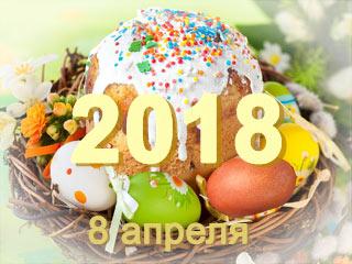 Пасха 2018