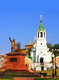 Лето Нижний Новгород