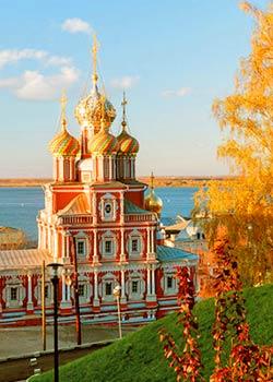 Нижний Новгород. Осень