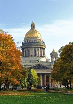 Санкт-Петербургю Осень
