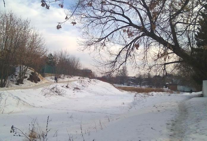 Снег Марфино 25 февраля 2015 года