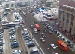 Нижний Новгород 28 декабря 2014. Московский вокзал