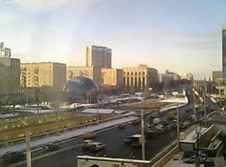 Москва 30 декабря 2014. Ленинградский проспект