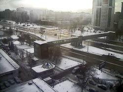Москва 01 января 2015. Рублевское шоссе
