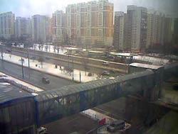 Москва 02 января 2015 Рублевское шоссе