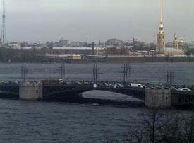 Санкт-Петербург 26 декабря 2015. Дворцовый мост