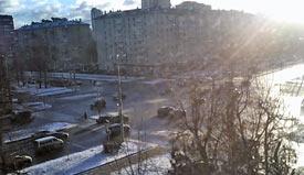 Москва 27 декабря 2015 Ленинский проспект
