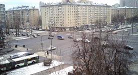 Москва 30 декабря 2015 Ленинский проспект