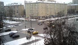Москва 28 декабря 2015 Ленинский проспект