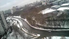 Москва 26 декабря 2016 Дорогобужская улица