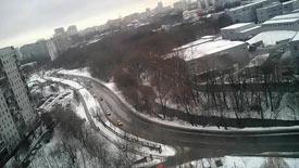 Москва 27 декабря 2016 Дорогобужская улица