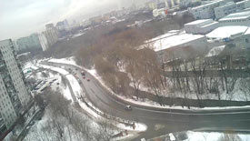Москва 28 декабря 2016 Дорогобужская улица