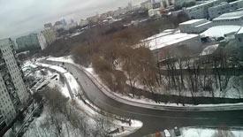 Москва 29 декабря 2016 Дорогобужская улица