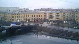 Санкт-Петербург 31 декабря 2016, набережная Фонтанки