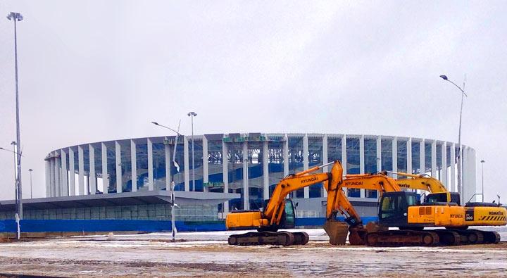Нижний Новгород 2018. Стадион «Нижний Новгород»
