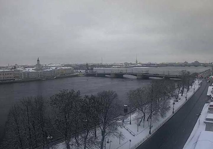 Санкт-Петербург 1 января 2018. Малоснежная зима 2018-2019