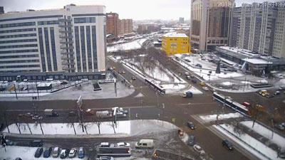Зима 2018-2019, Москва, Крестьянская застава
