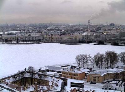 Санкт-Петербург 1 января 2019. Малоснежная зима 2018-2019