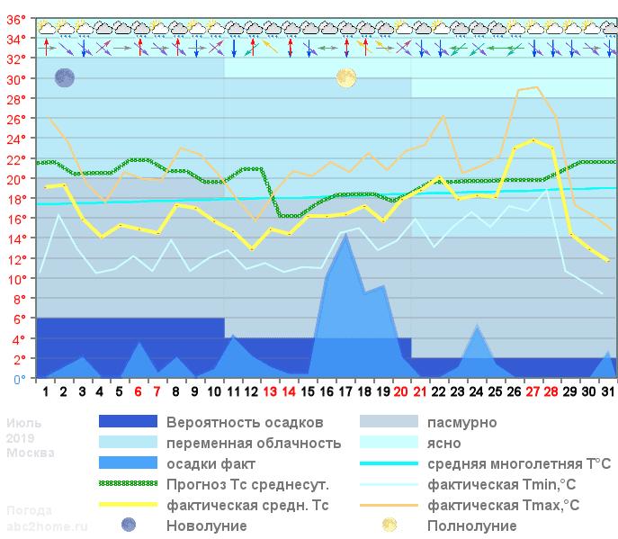 График температуры июль 2019, msk