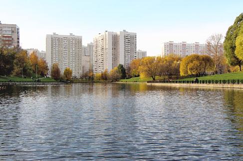 Бабье лето. Москва