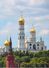 Москва. Лето