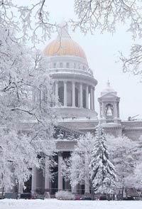 Зима Санкт-Петербург