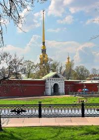 Прогноз погоды. Весна в Санкт-Петербурге