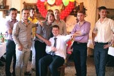 Свадьба. Команда парней
