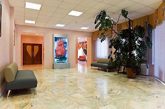Зеленоградский ЗАГС. Холл 2
