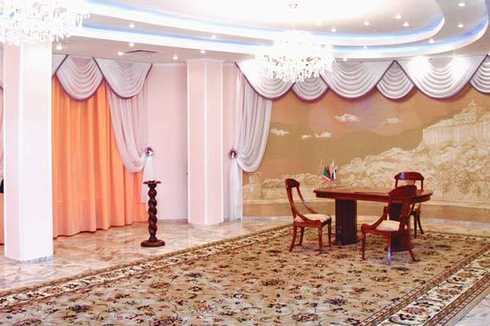 Зеленоградский ЗАГС. Торжественный зал. Крупный план