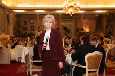 Tamada - the host at the wedding, Moscow