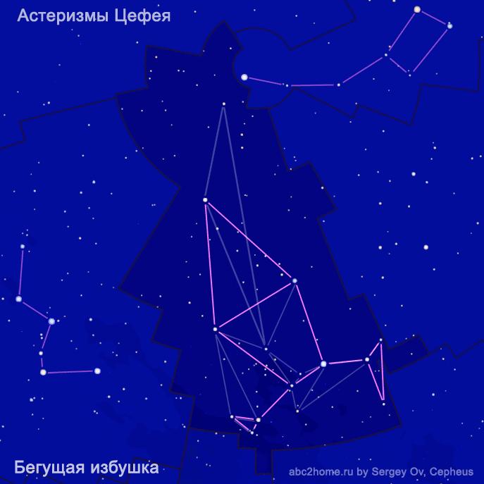 Астеризм созвездия Цефей