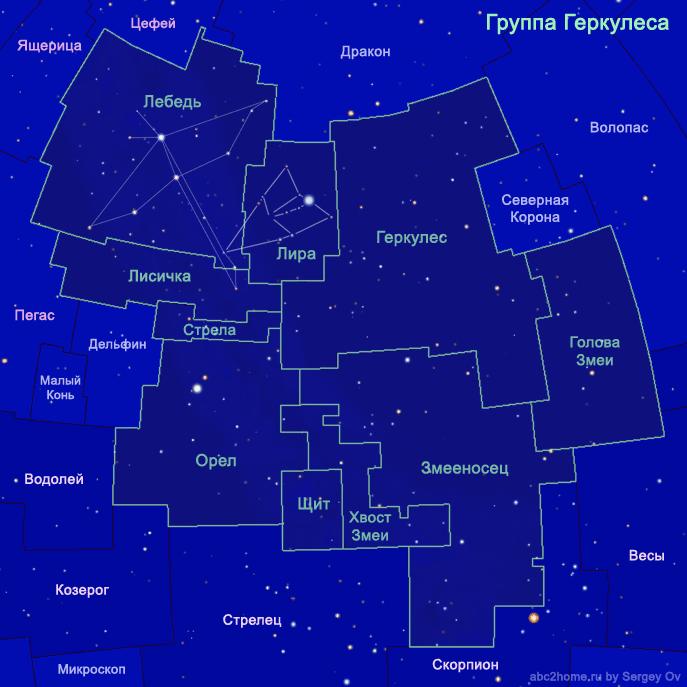 Группа созвездий Геркулеса