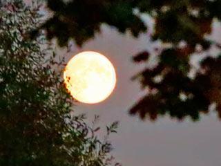 Супер-Луна, осень 2014