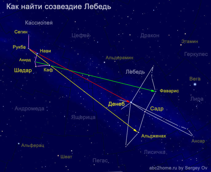 How to find Cygnus constellation