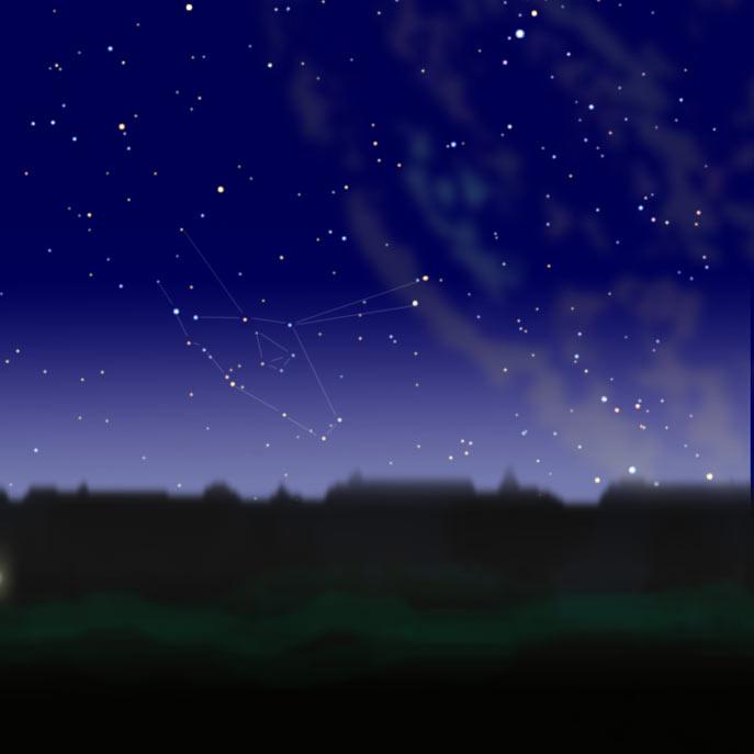 Созвездие Козерог, звезды и Козерожек