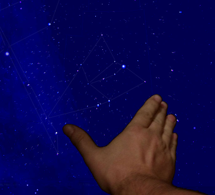 angular size of the constellation Lyra