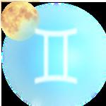 Луна в Близнецах символ