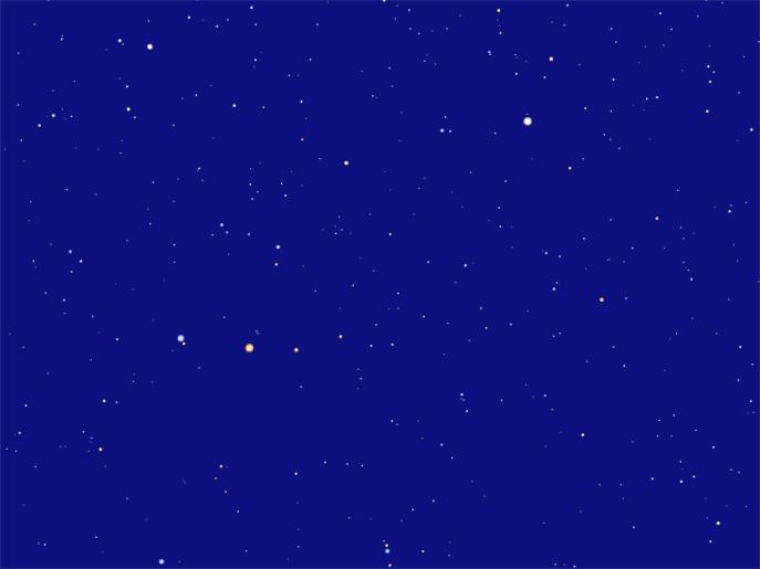 Созвездие Малая Медведица, звезды созвездия Малой Медведицы