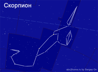 Созвездие Скорпион (Scorpius)
