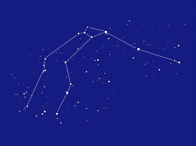Душ - Схема созвездия Водолей