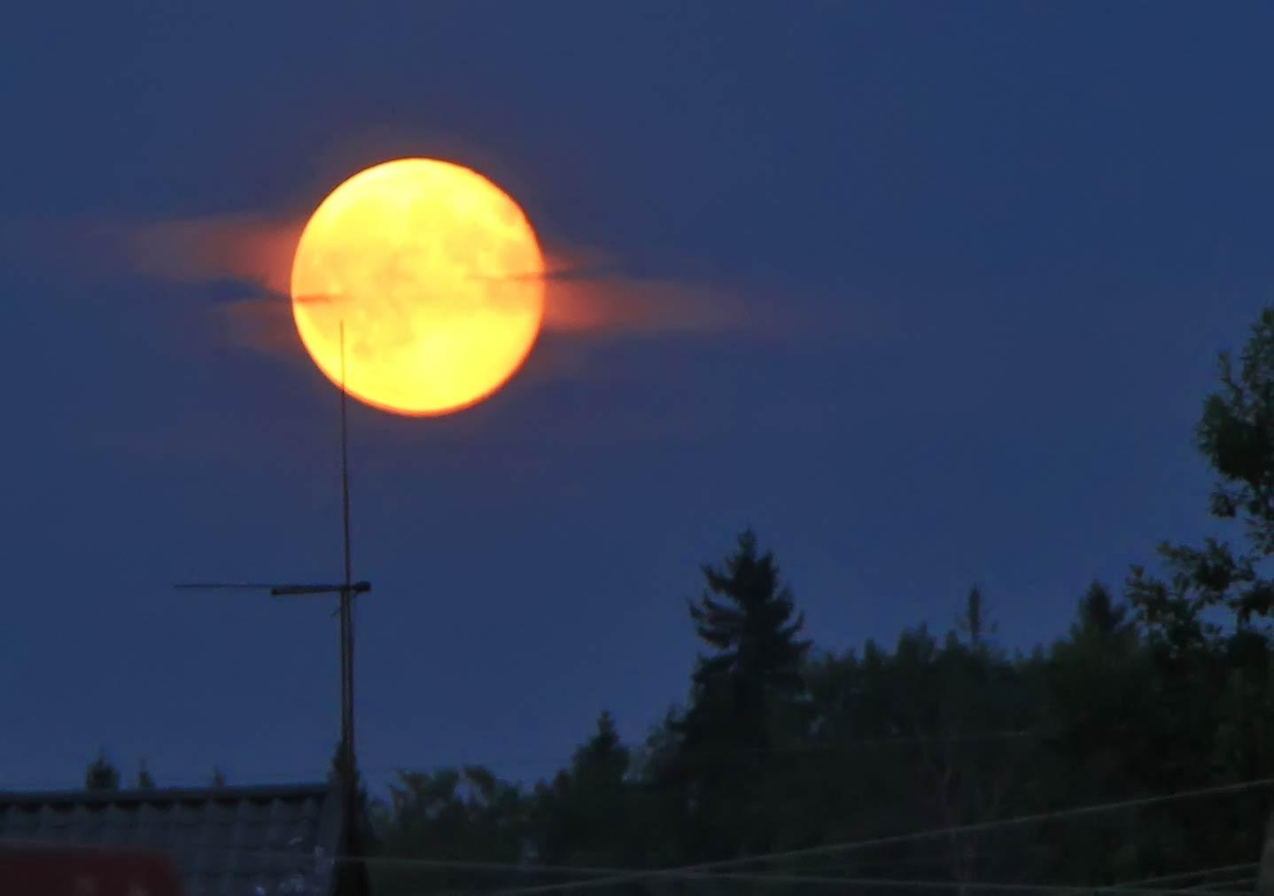 Супер Луна - Supermoon. Суперлуние © Sergey Ov