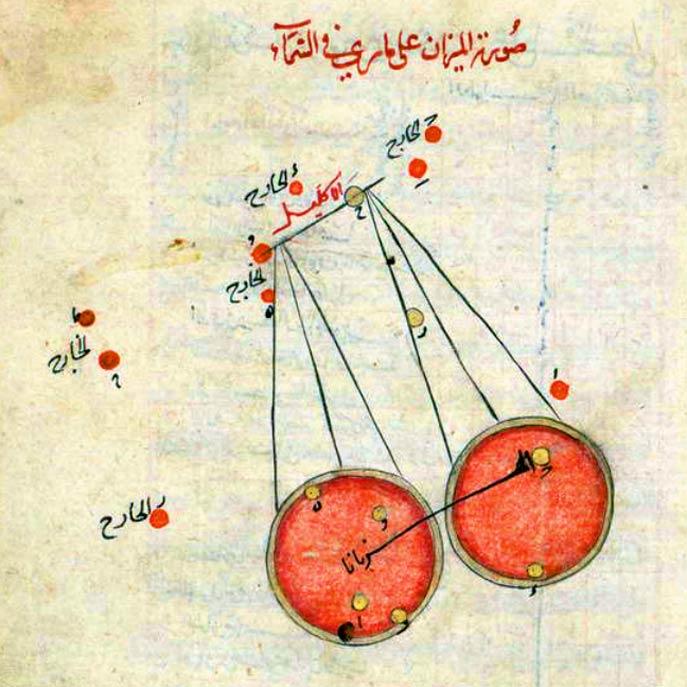 Созвездие Весы в книге ас-Суфи (Al Sufi)
