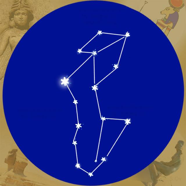 Созвездие Девы диаграмма по звездам
